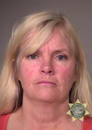 Shawna Cox em foto divulgada pela polícia de Portland (Oregon)