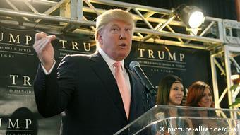 Trump eröffnet neues Hotel in Las Vegas (picture-alliance/dpa)