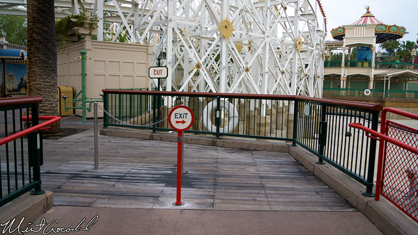 Disneyland Resort, Disney California Adventure, Paradise, Pier, Mickey, Fun, Wheel, Exit
