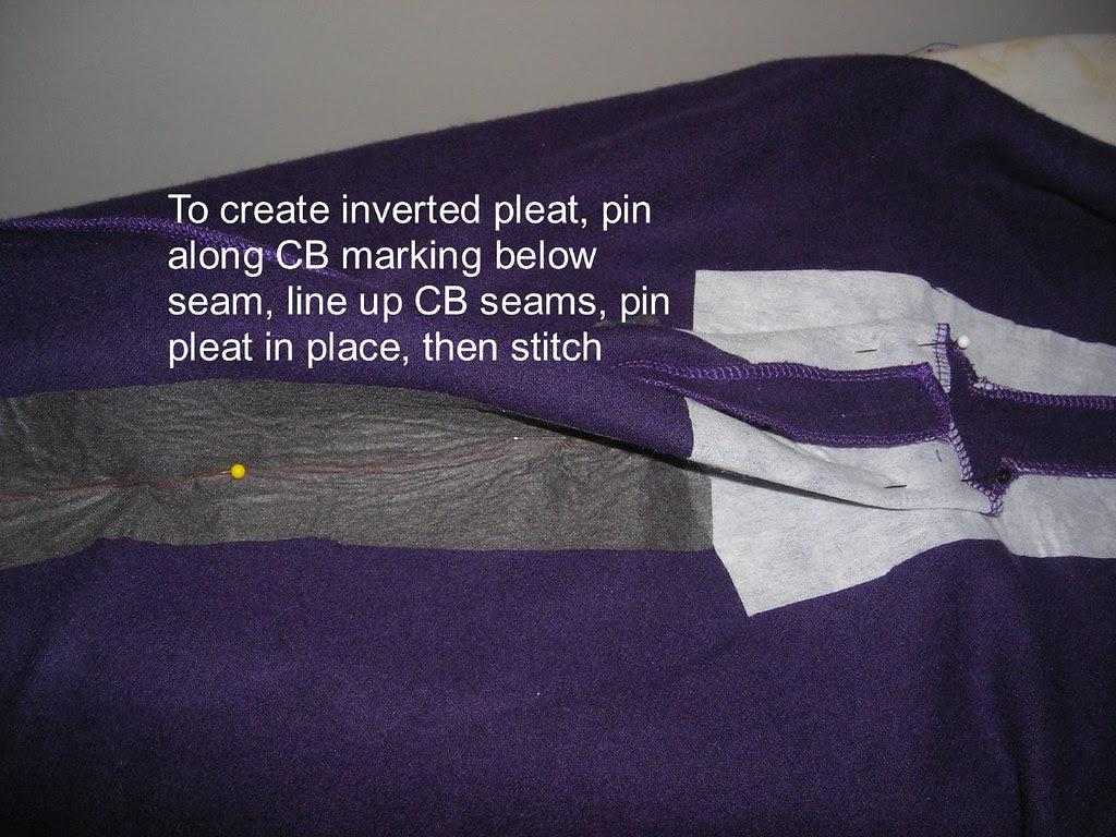 Put in Inverted Pleat