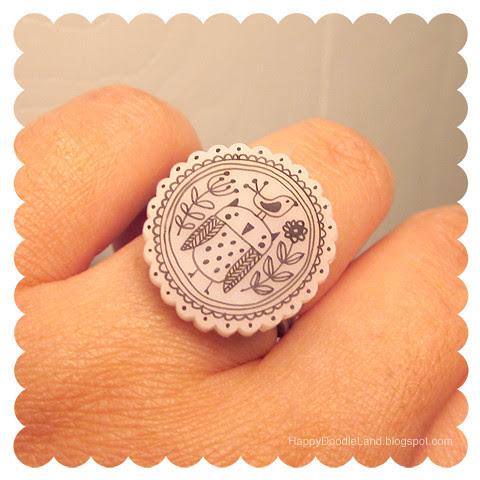 Shrink Plastic Ring