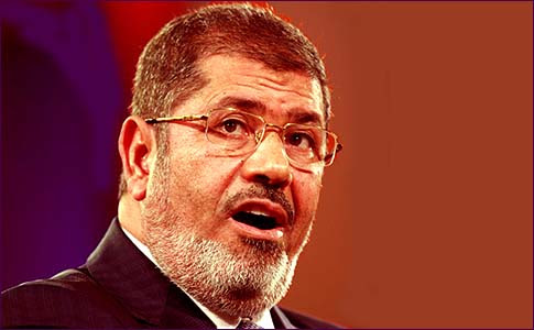Egyptian President Mahmoud Morsi