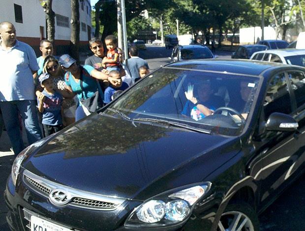 Thomás treino Flamengo (Foto: Richard Souza / Globoesporte.com)