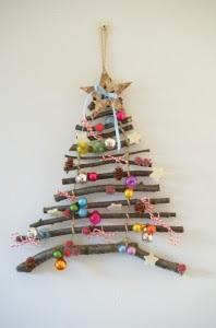 decorazioni e lavoretti di Natale con i legnett