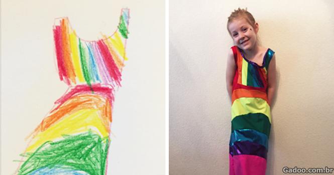 Empresa permite que crianças criem suas próprias peças de roupa