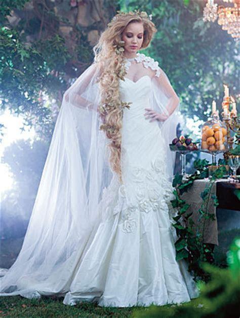 16 vestidos de novia hechos para las Princesas de Disney