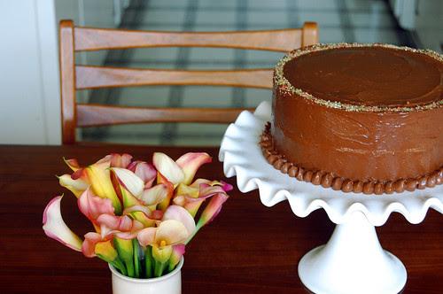 best birthday cake - recipe from smitten kitchen