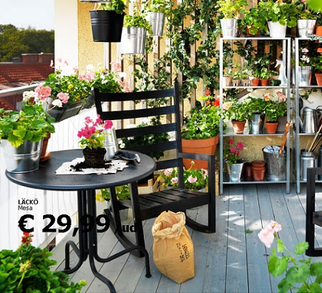 Muebles Jardin Tumbonas Ikea Terraza Y Jardin