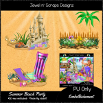 Embellishments - Summer Beach Party