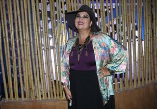 Fabiana Karla no Lollapalooza (Foto: Iwi Onodera/ EGO)