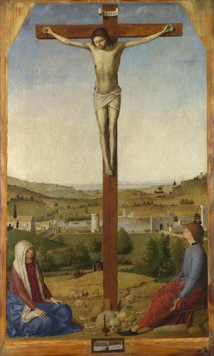 Antonello da Messina - Crucifixion by petrus.agricola