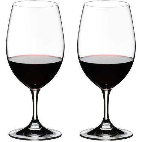 Riedel Crystal Wine Glasses   David Simchi Levi