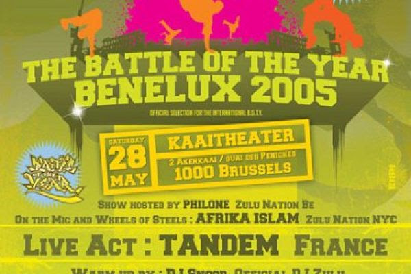 Battle of The Year Benelux 2005