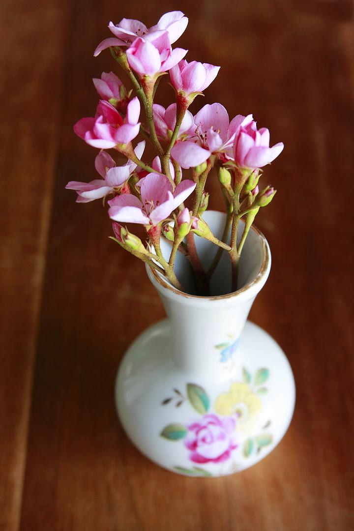thrift flower vase