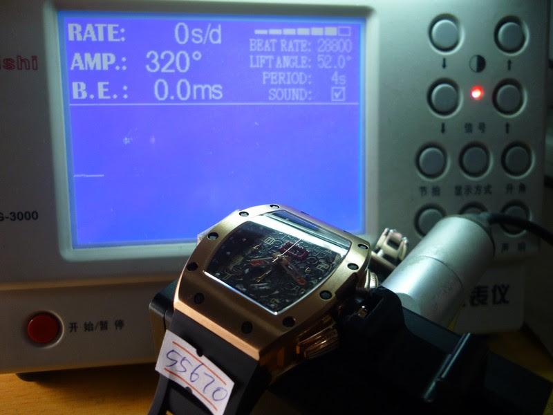Richard Mille Watch Test