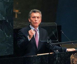 Mauricio Macri en Naciones Unidas. Foto: Archivo.