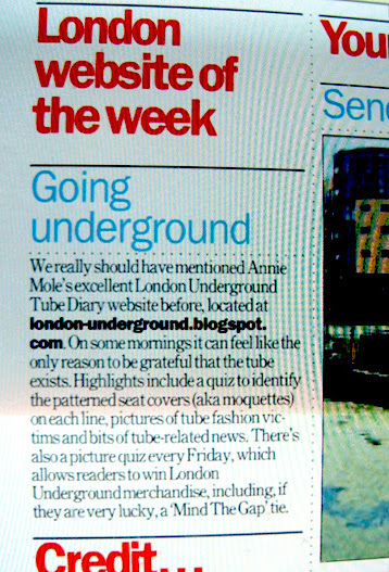 Time Out London  - July 19th issue - London Website of the Week