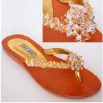 Lily Holt Santa Cruz Sandal in Gold