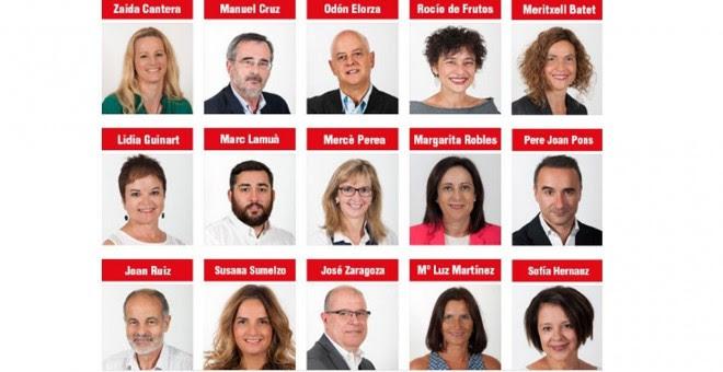 Los diputados del PSOE que votaron 'no' a Mariano Rajoy. EUEROPA PRESS