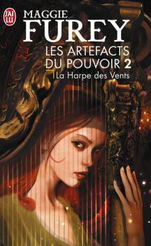 Couverture Les Artefacts du pouvoir, tome 2 : La Harpe des vents