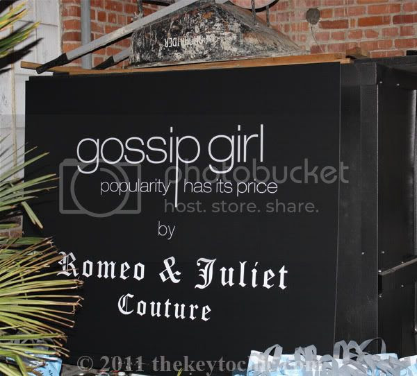 Gossip Girl by Romeo & Juliet Couture launch party