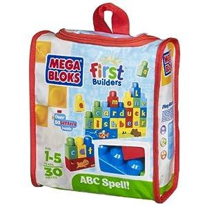Mega Bloks Build 'n Learn ABC Spell