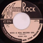 rock and Roll Record Girl Single