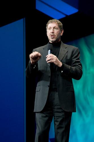 """Larry Ellison, General Session """"Java: Change (Y)Our World"""" on June 2, JavaOne 2009 San Francisco"""