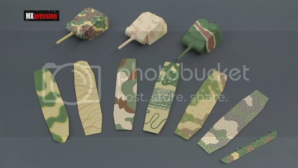 MXPression Airbrushing Camouflage Patterns