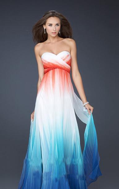 Summer evening dress