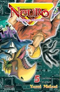 Couverture Neuro : Le mange-mystères, tome 05 : Les frères en armure