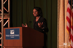 The Honorable Condoleezza Rice at the World Af...