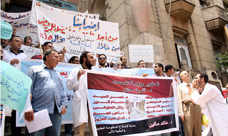Egyptian physicians went on strike against financial impropriety. The unrest inside the country is escalating amid the economic crisis. by Pan-African News Wire File Photos