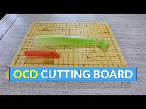 Amazing Bamboo Cutting Board cut Vegetables equal size vegetables cutting tool