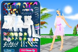 Anime Bride Dress Up Game   Wedding games   Games Loon