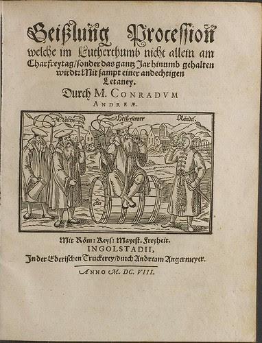 Geißlung Procession by Andreae Conrad (1608)