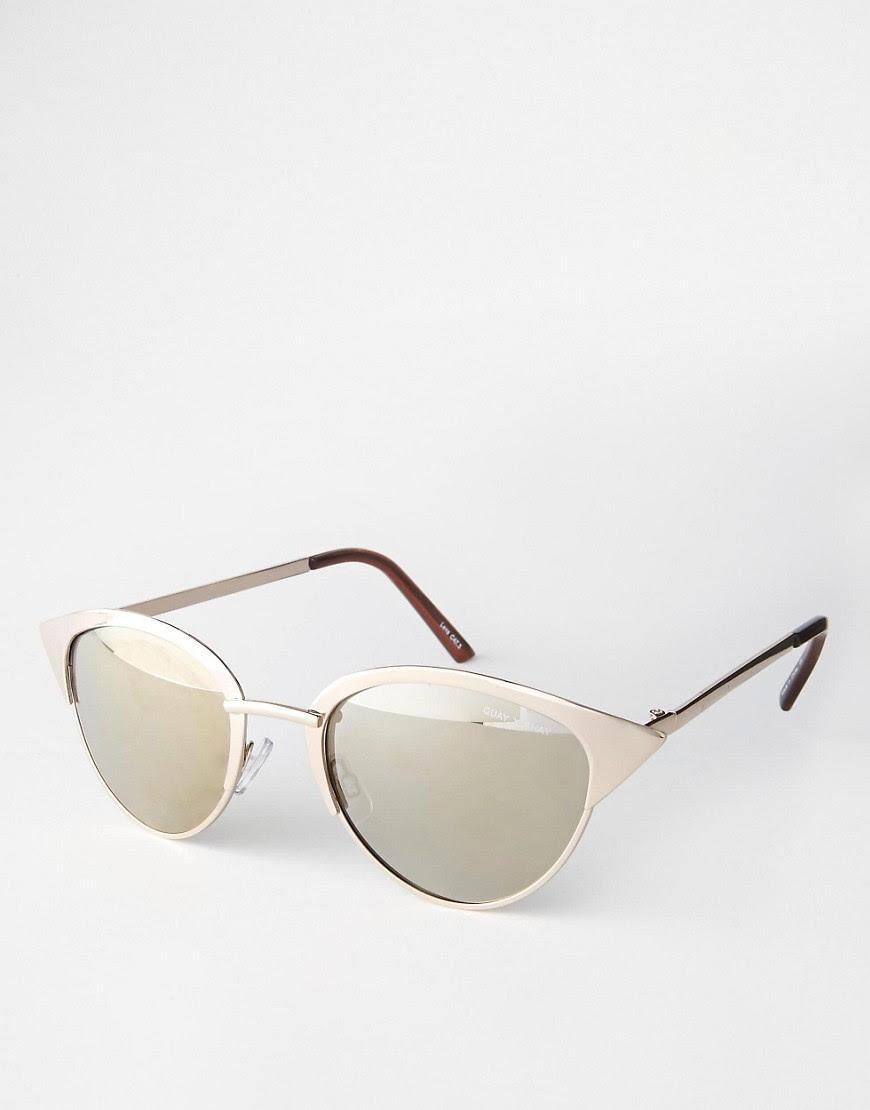 Image 1 ofQuay Australia X Shay Tilly Mirror Sunglasses