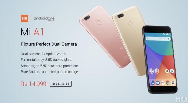 2017  Xiaomi Umumkan Seri A1 Dengan Spesifikasi Tinggi Dual Kamera
