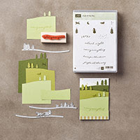 Jingle All the Way Wood-Mount Bundle by Stampin' Up!