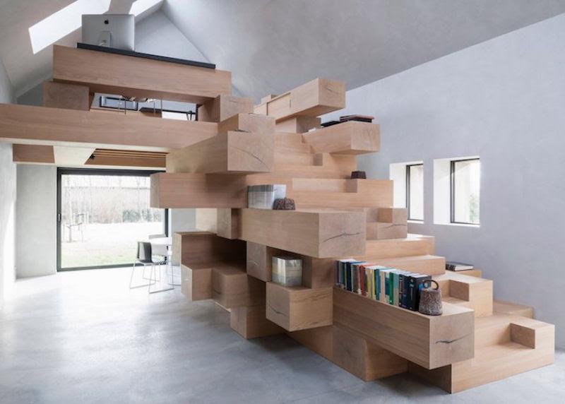 Escadas incrivelmente projetadas que estão um degrau acima das demais 26