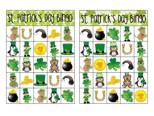 Printable st-patricks-day-bingo
