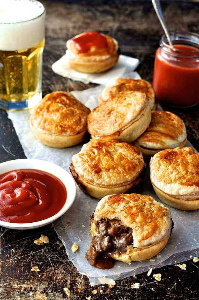 Party Pies (Aussie Mini Beef Pies) | RecipeTin Eats
