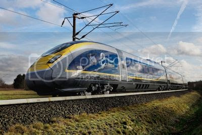 The sleek and stylish Eurostar