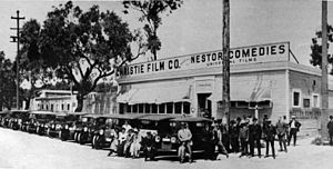 Nestor Studios, the first film studio in Holly...