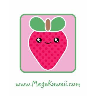 Mega Kawaii Strawberry T-Shirt Promotional shirt