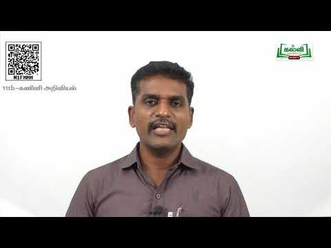 11th Computer Science C++செயல்கூறுகள் அலகு11 பகுதி 2 Kalvi TV