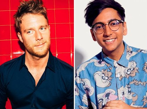 Jake McDorman and Nik Dodani