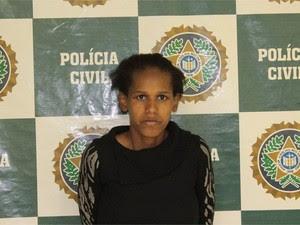 Mulher foi detida por morte de filho de dois anos (Foto: Silvana Rust/ Terceira Via)
