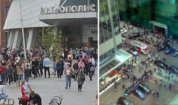moscow evacuate bomb threat