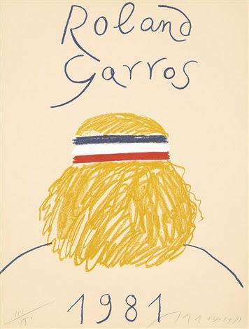 Roland Garros 1981 by Eduardo Arroyo on artnet